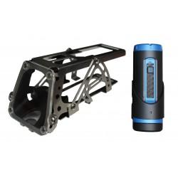 K9rec kamera och kamerafäste