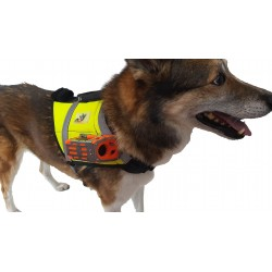 K9rec - Camera vest with 9 hour recording.